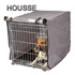 Image 1 - Housse pour cage pliable métallique pour chien ou chat