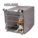 Image 2 - Housse pour cage pliable métallique pour chien ou chat