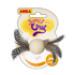 Image 2 - Jouet balle pour chat en bois avec plumes Anka