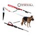 Image 3 - Laisse 2 positions Cartahu™ à déploiement de sangle pour la conduite de chien