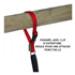 Image 6 - Laisse 2 positions Cartahu™ à déploiement de sangle pour la conduite de chien