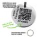 Image 4 - Médaille intelligente gravée QR code d'identité pour chien et chat