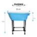 Image 2 - Mini baignoire bleue pour toilettage