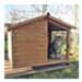 Image 1 - Niche bois avec auvent et terrasse pour chat