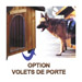Image 4 - Niche en pin pour chien Ferplast Domus