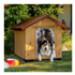 Image 3 - Niche en pin pour chien Ferplast Domus