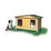 Image 1 - Niche en bois pour chien Duo Confort Isolée double pan