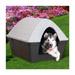 Image 2 - Niche isolée Casa Felice en plastique pour chien