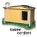 Image 1 - Niche pour chien confort isolée et toit double pan