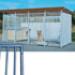 Image 1 - Panneau éco Barreau pour construction de chenil en kit pour chien