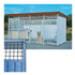 Image 1 - Panneau Pro tôle mixte en kit pour construire chenil chien et chat