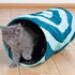 Image 2 - Tunnel Crunch tissu nylon PM pour chat