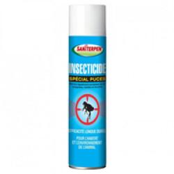 Aérosol insecticide spécial puces Saniterpen