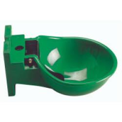Abreuvoir à palette en plastique vert Ukal