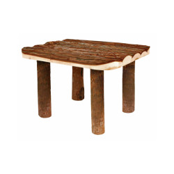 Abri en bois avec plateforme pour rongeurs Natural Living Trixie - 30 × 22 × 25 cm