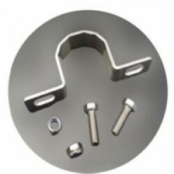 Colliers de fixation en aluminium pour mât diamètre 50 mm