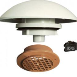 Aérateur de toit électrique petit et moyen volume pour chien avec interrupteur
