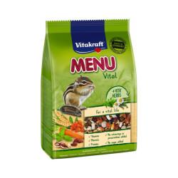 Aliment complet pour écureuils Menu Premium sachet fraîcheur de 600 g