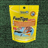 Alimentation FunTips Tablets Tetra 20 pastilles pour poissons