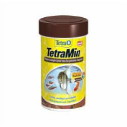Alimentation pour poisson TetraMin flocons - 1 boîte de 100 ml