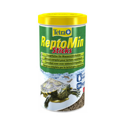 Alimentation premium équilibrée pour tortues aquatiques Tetra ReptoMin - 1 litre