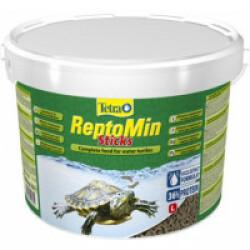 Alimentation premium équilibrée pour tortues aquatiques Tetra ReptoMin - 10 litres