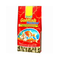 Alimentation Tetra Goldfish weekend 40 sticks pour poissons