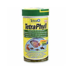 Alimentation Tetra Phyll 250 ml pour poissons