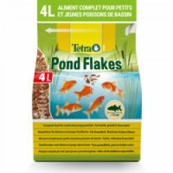 Alimentation Tetra Pond Flakes pour poissons de bassin 4 litres