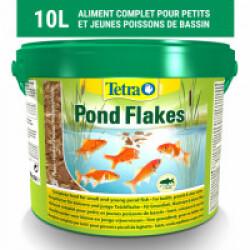 Alimentation Tetra Pond Flakes pour poissons de bassin 10 litres