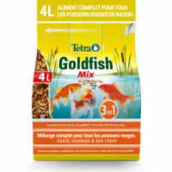 Alimentation Tetra Pond Goldfish Mix pour poissons de bassin Contenance 4 litres