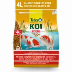 Alimentation Tetra Pond Koï Sticks pour poissons de bassin Contenance 4 litres