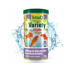 Alimentation Tetra Pond Variety Sticks Contenance 1 litre