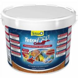 Alimentation Tetra Pro Colour pour poissons exotiques Contenance 10 litres