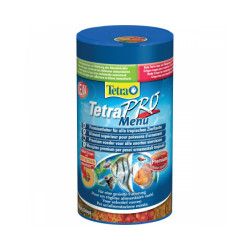 Alimentation Tetra Pro Menu 250 ml pour poissons