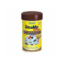 Alimentation Tetra Tetramin Junior 100 ml pour poissons exotiques