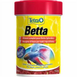 Aliments Bettamin Tetra 85 ml flocons pour poissons combattants