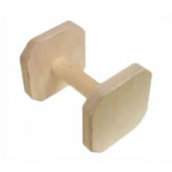 Apportable en bois pour chien Obéissance FCI 300 g Lg 14 cm