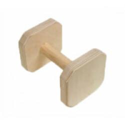 Apportable en bois pour chien Obéissance FCI 200 g Lg 13 cm