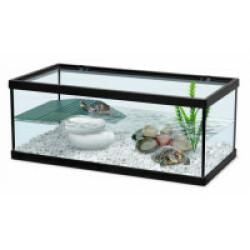 Aquarium Tortum noir Terratlantis pour tortue d'eau