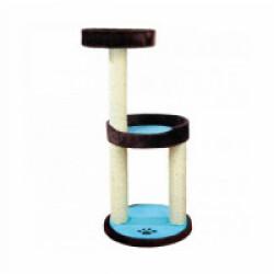 Arbre à chat bleu et brun Lugo hauteur 103 cm Trixie