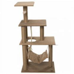 Arbre à chat 3 étages avec hamac et jeux Elm - hauteur 118,5 cm