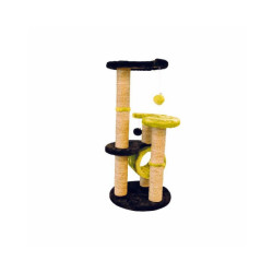 Arbre à chat vert et noir 86 cm Everest M-Pets