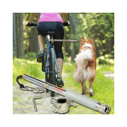 Attache chien pour vélo Bike Joring Walky Dog Plus complet