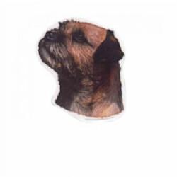 Autocollant race Border Terrier