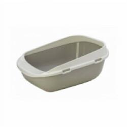 Bac à litière plastique Taupe pour chat ou chiot longueur 65 cm Savic