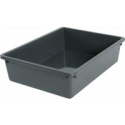 Bac à litière gris Eco 35.8 x 28.5 x 9.5 cm