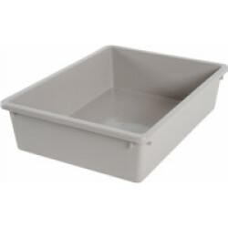 Bac à litière taupe Eco 35.8 x 28.5 x 9.5 cm