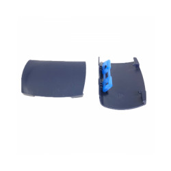 Lot de 2 poignées de rechange bleues pour bac à litière Berto