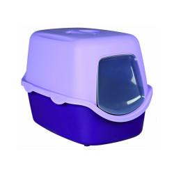 Bac à litière Vico violet Trixie